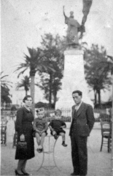 The Hatzis Family - Patras, Greece 1939